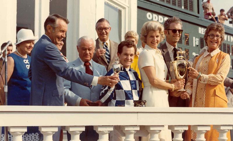 1973 trophy presentation