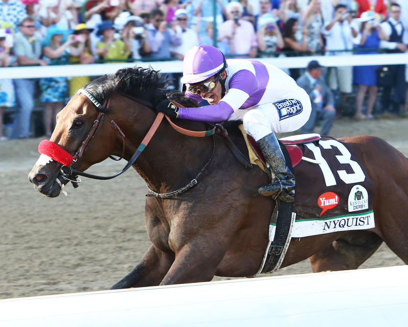 20160507 NYQUIST KyDerby (Coady) Inside Finish 2