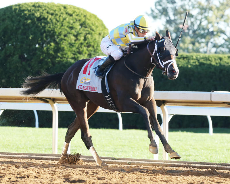 Classic Empire (Keeneland/Coady Photography)