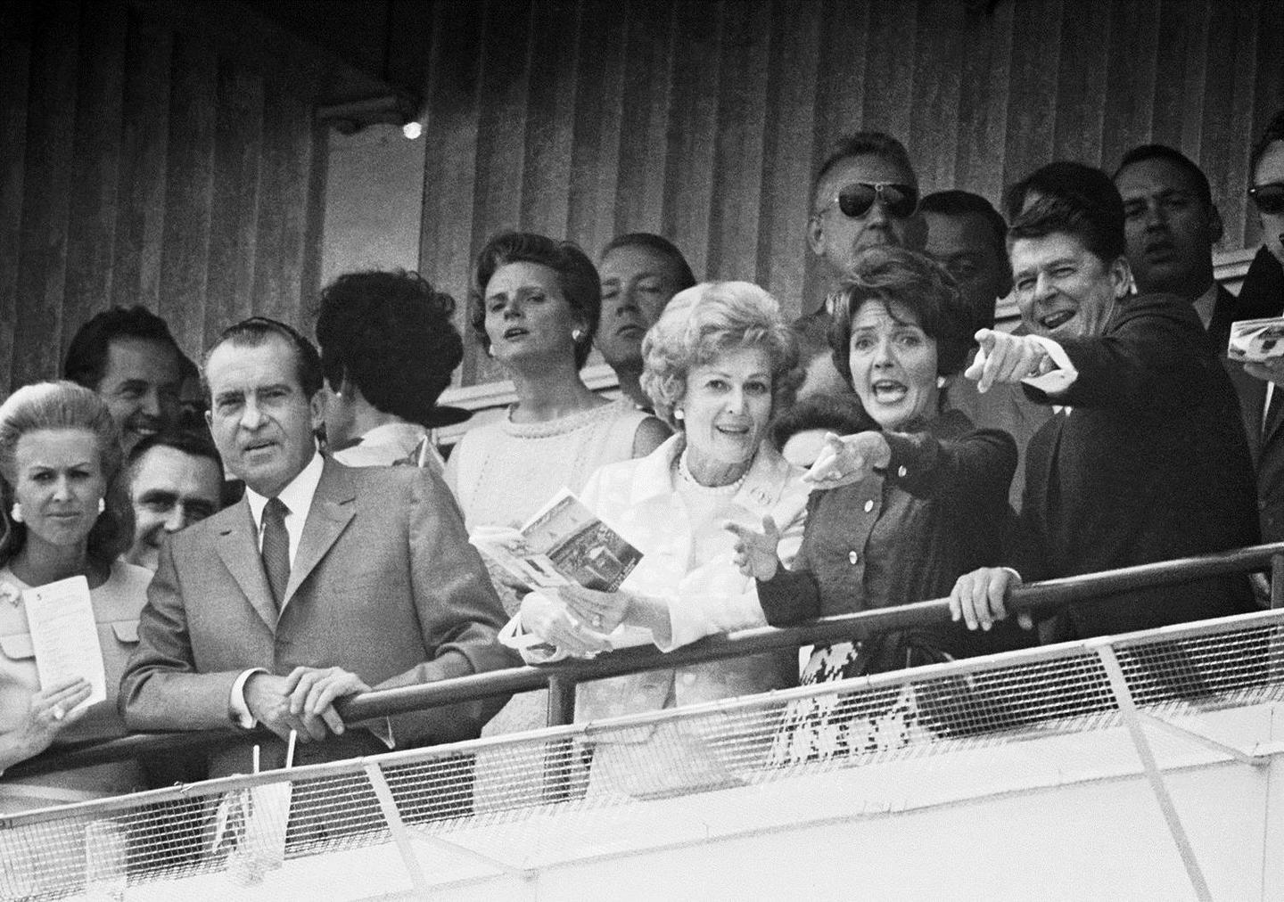 reagan and nixon at derby