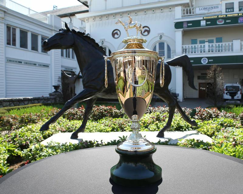20170405 KY Derby Trophy Arrival3 (Coady)