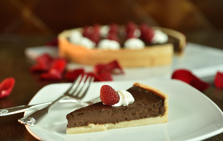 bourbon chocolate tart 2