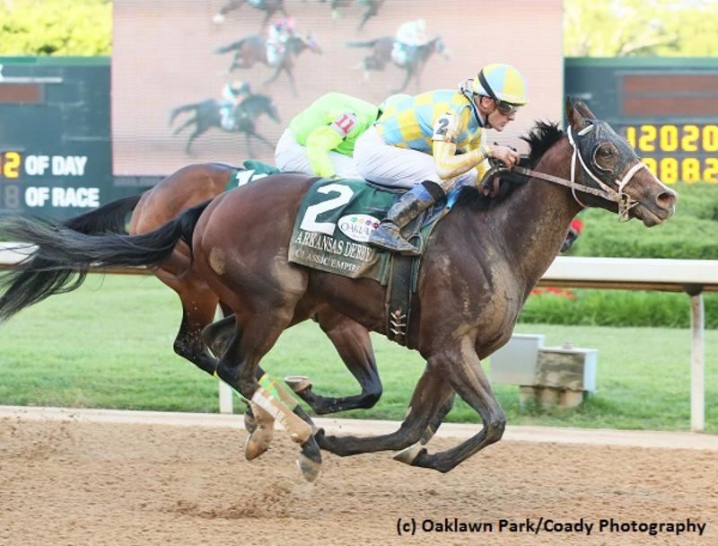 Classic Empire (Oaklawn Park/Coady Photography)