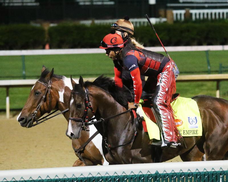20170425 Classic Empire - Gallop (Coady)