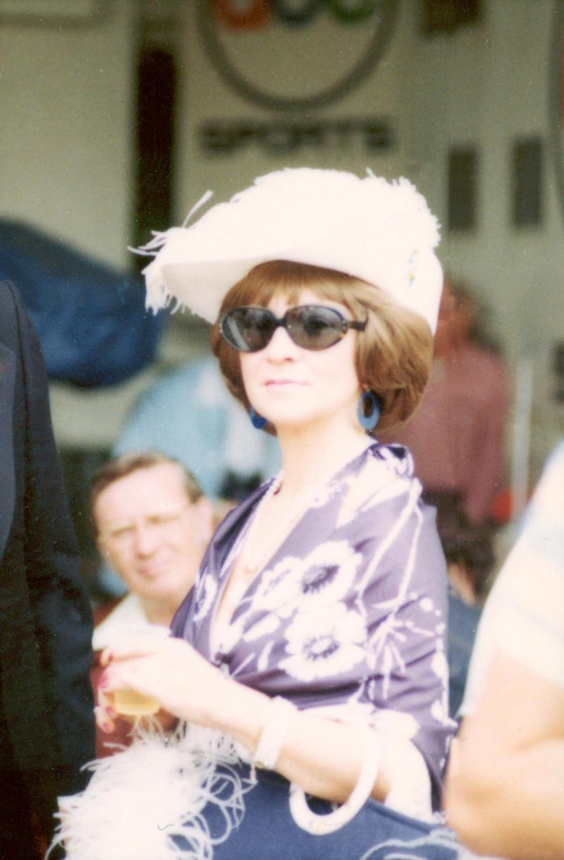 1976 lady hat