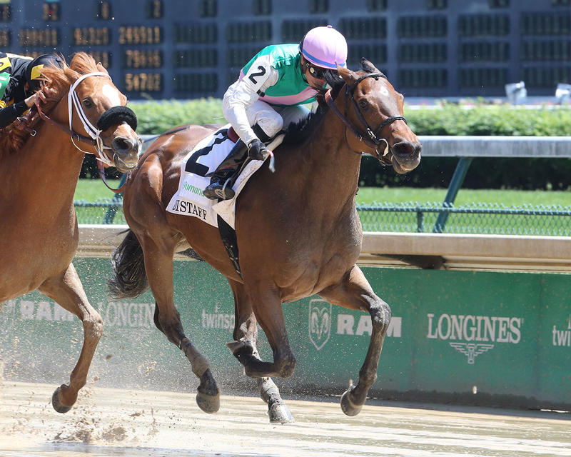 PAULASSILVERLINING---The-Humana-Distaff---Gr-1---31st-Running---05-06-17---R06---CD---Finish-2