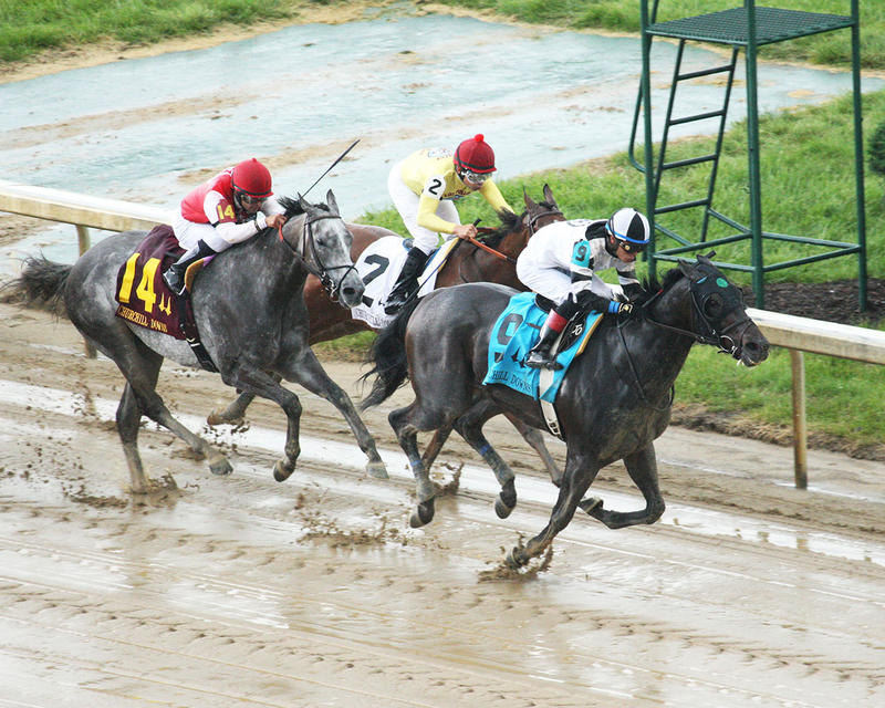 LIMOUSINE-LIBERAL---The-Churchill-Downs---Gr-ll---83rd-Running---05-06-17---R10---CD---Aerial-Turn-2