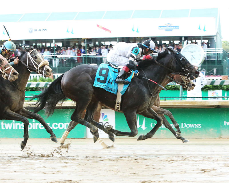 LIMOUSINE-LIBERAL---The-Churchill-Downs---Gr-ll---83rd-Running---05-06-17---R10---CD---Finish-1