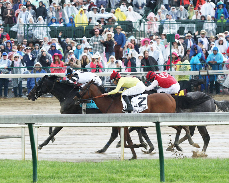 LIMOUSINE-LIBERAL---The-Churchill-Downs---Gr-ll---83rd-Running---05-06-17---R10---CD---Inside-Turn-1