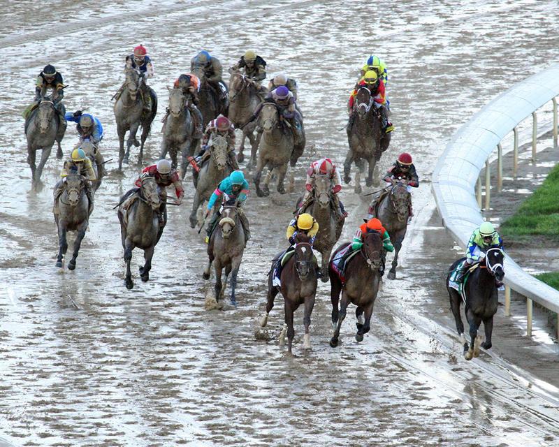 ALWAYS-DREAMING----The-Kentucky-Derby-Gr-1---143rd-Running---05-06-17---R12---CD---Aerial-Turn-1