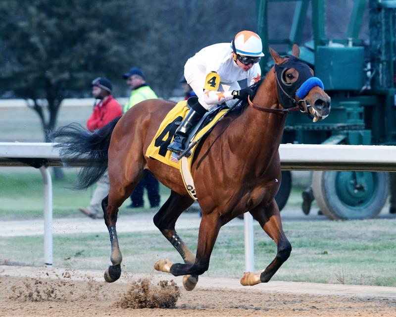 Mourinho wins the Smarty Jones Stakes
