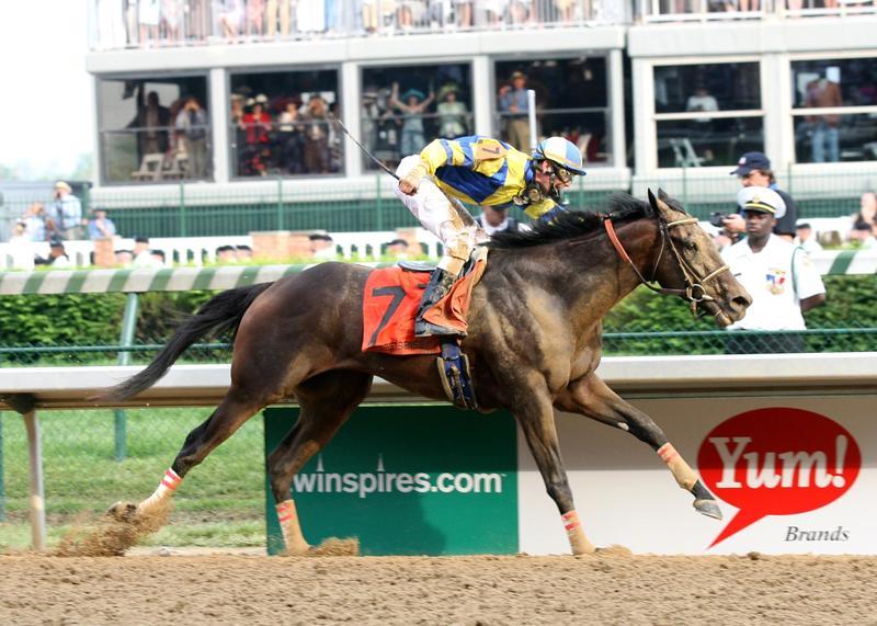 Street Sense wins the 2007 Kentucky Derby