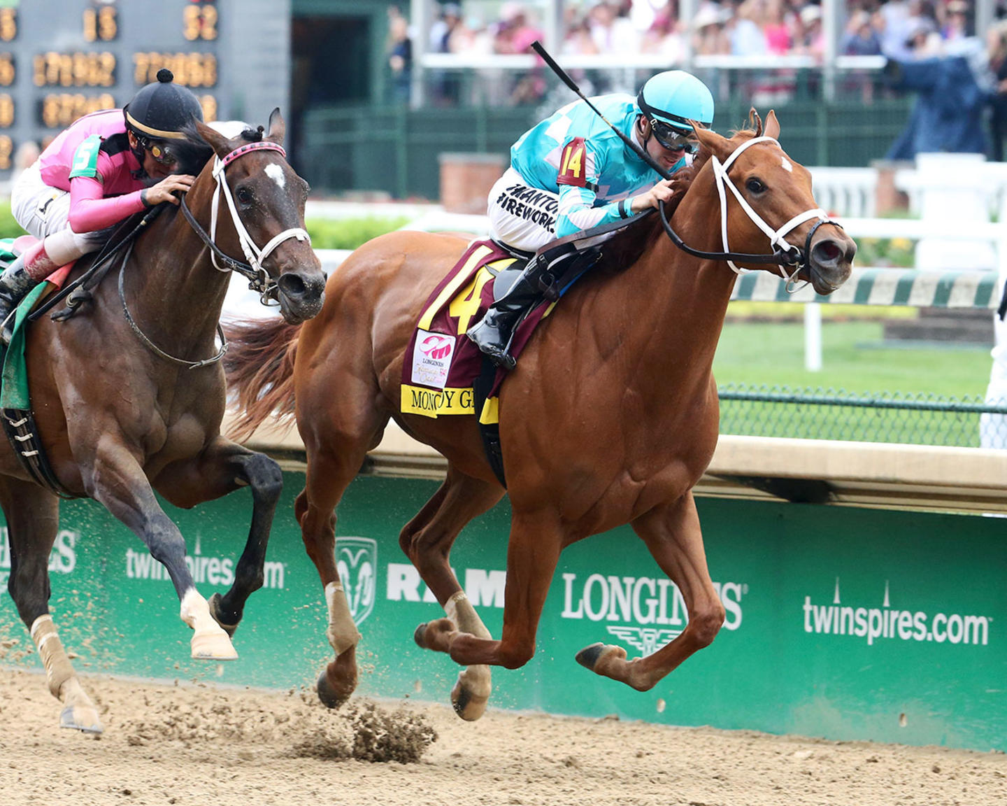 MONOMOY-GIRL---Longines-Kentucky-Oaks---G1---144th-Running---05-04-18---R11---CD---Finish-02-(1)
