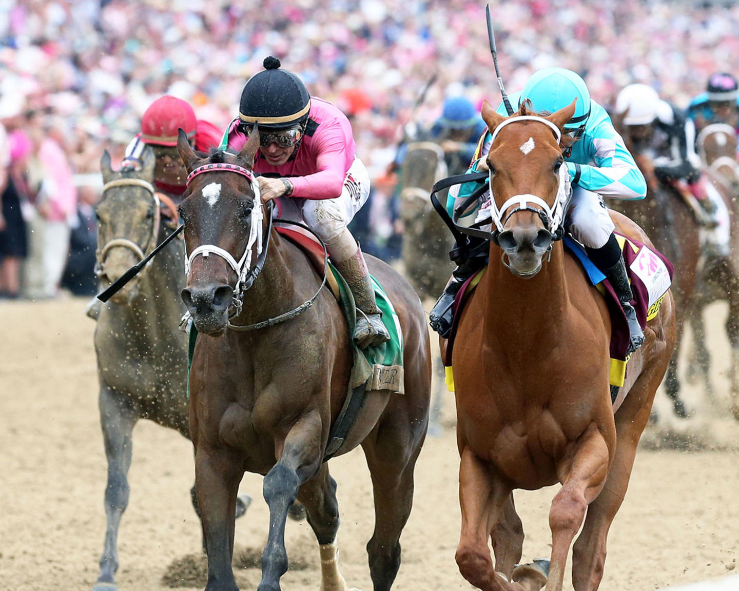 MONOMOY-GIRL---Longines-Kentucky-Oaks---G1---144th-Running---05-04-18---R11---CD---Inside-Finish-02