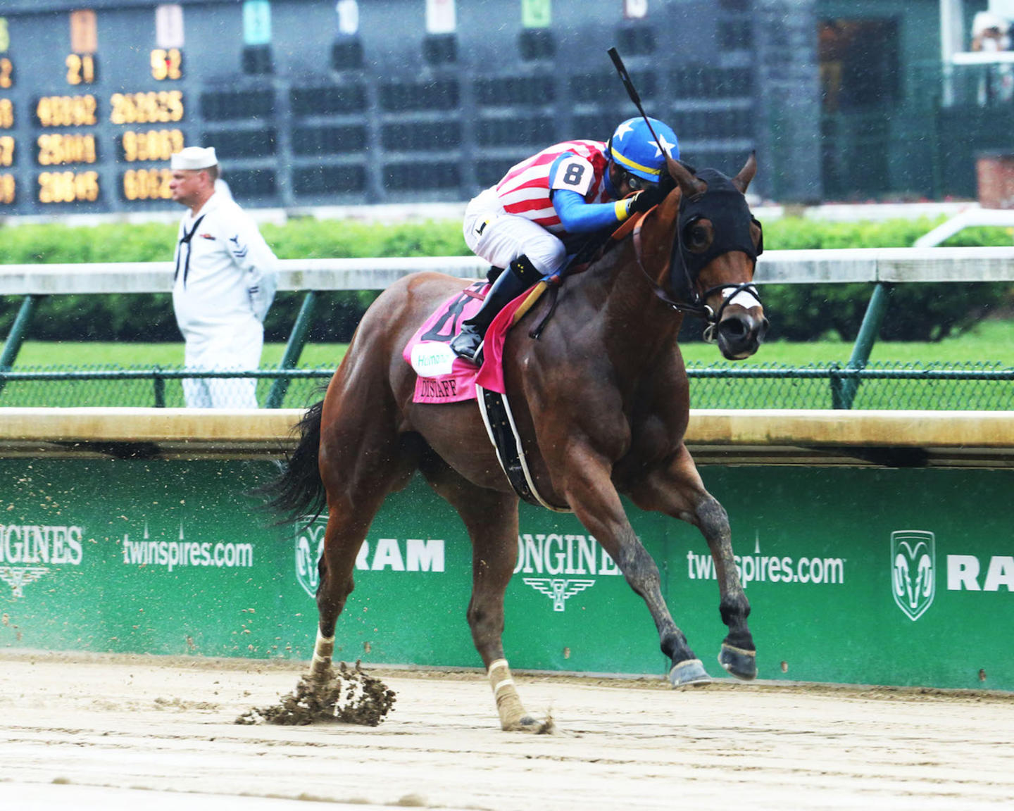 AMERICAN GAL - The Humana Distaff G1 - 32nd Running - 05-05-18 - R06 - CD - Finish 02