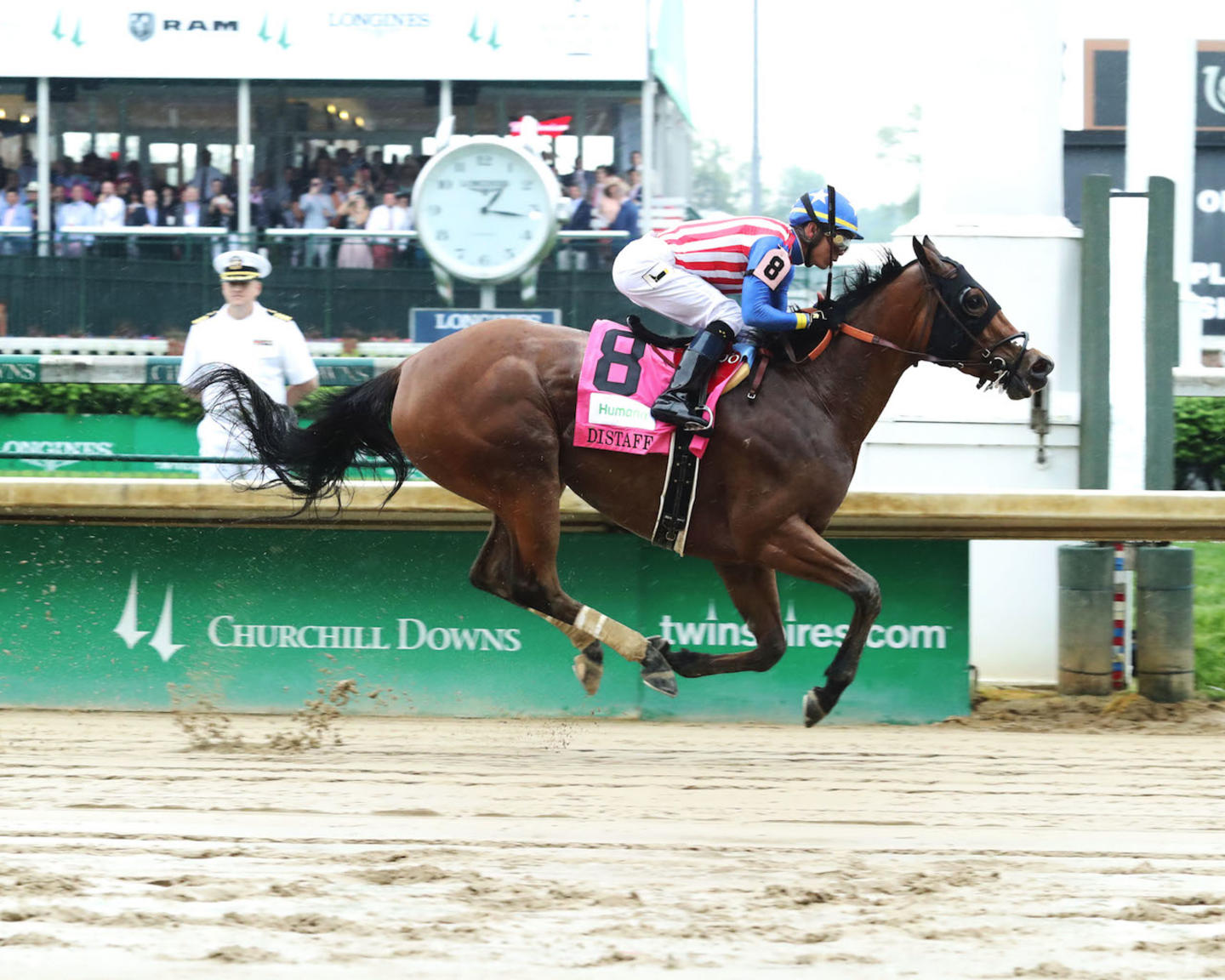 AMERICAN GAL - The Humana Distaff G1 - 32nd Running - 05-05-18 - R06 - CD - Finish 01