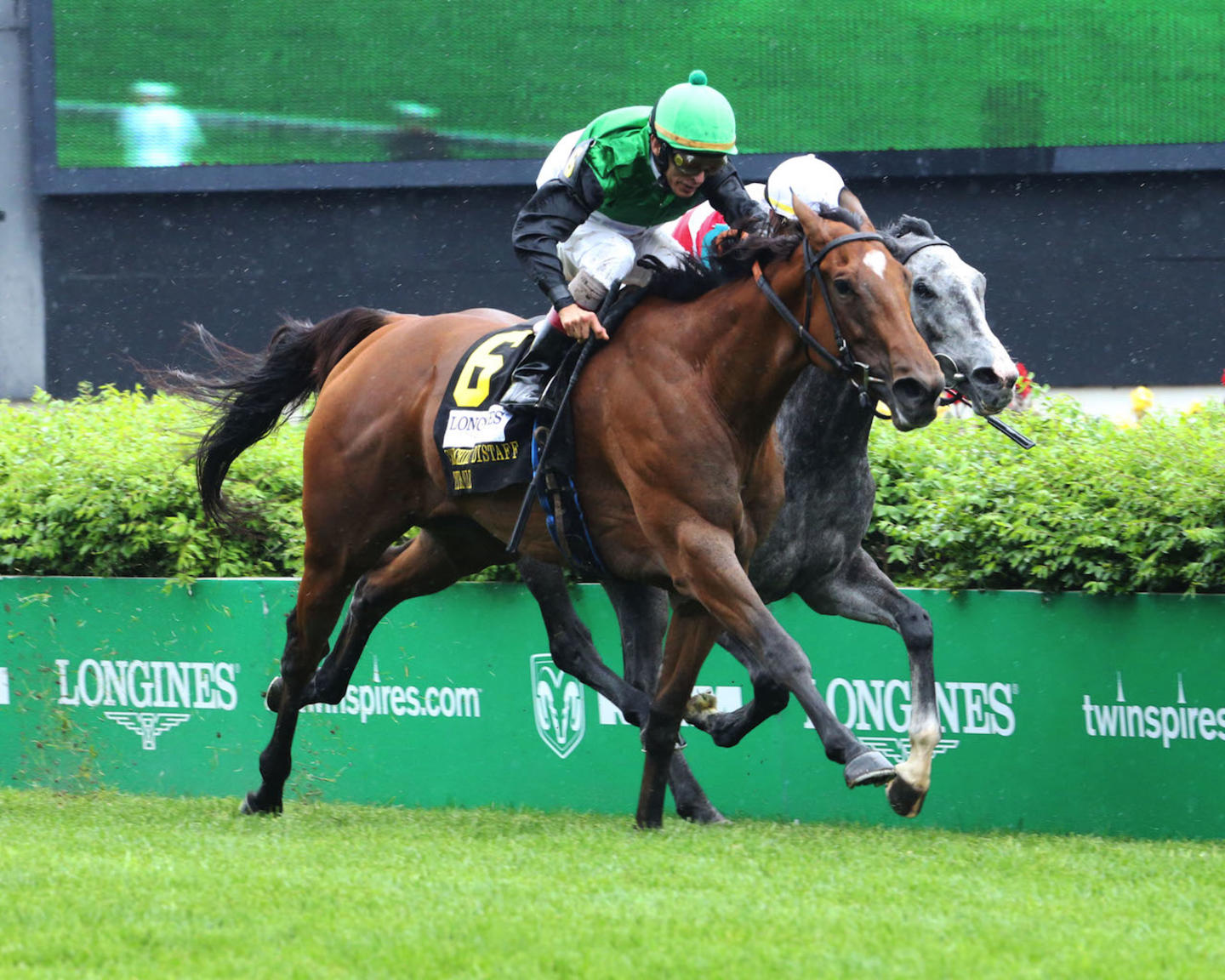 PROCTOR'S LEDGE - The Longines Churchill Distaff Turf Mile G2 - 33rd Running - 05-05-18 - R07 - CD - Finish 03