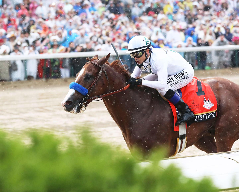 JUSTIFY---The-Kentucky-Derby-G1---144th-Running---05-05-18---R12---CD---Inside-Finish-04