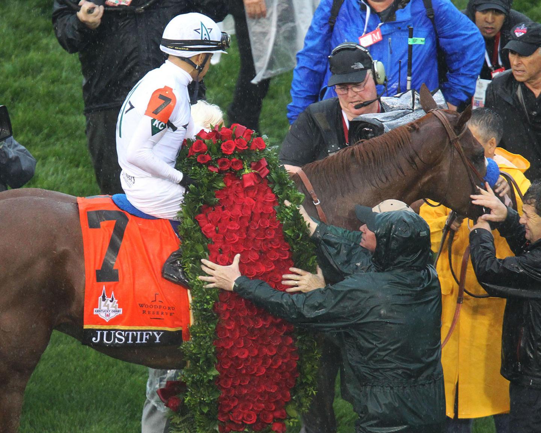 JUSTIFY---The-Kentucky-Derby-G1---144th-Running---05-05-18---R12---CD---Rose-Garland-01