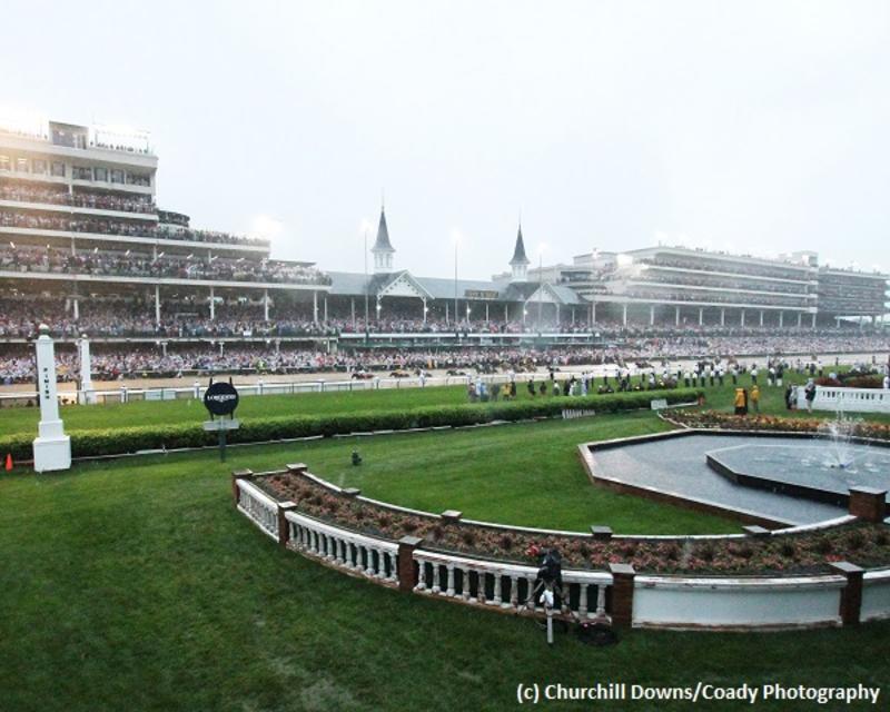 Kentucky Derby 144 field (c) Churchill Downs/Coady Photography