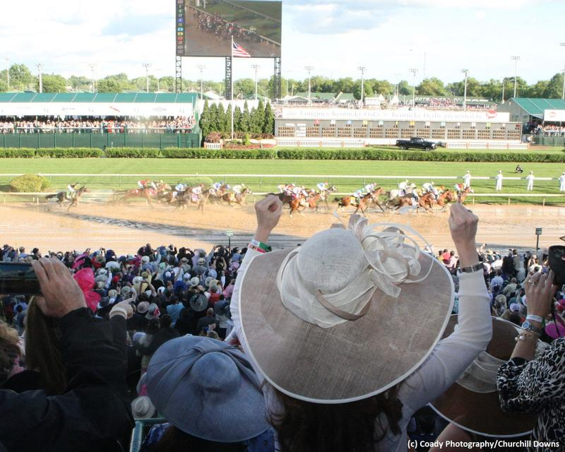Kentucky Derby Day at Churchill Downs (c) Coady Photography