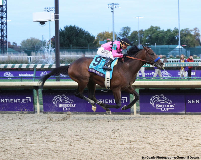 Game Winner (c) Coady Photography/Churchill Downs