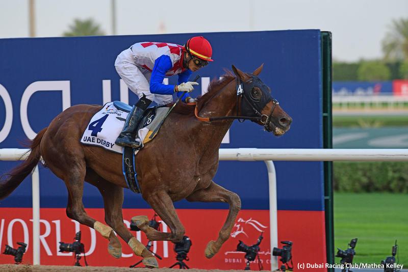 Plus Que Parfait (c) Dubai Racing Club/Mathea Kelley