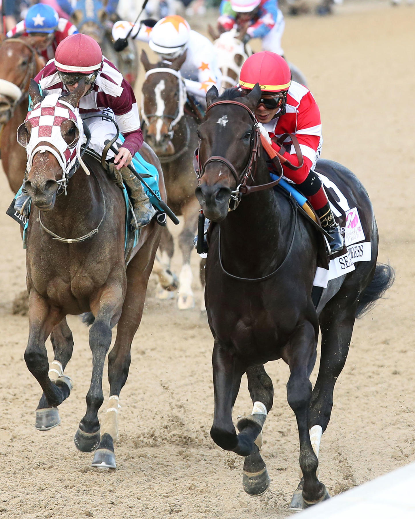 SERENGETI-EMPRESS---The-Longines-Kentucky-Oaks---145th-Running---05-03-19---R11---CD---Inside-Finish-02