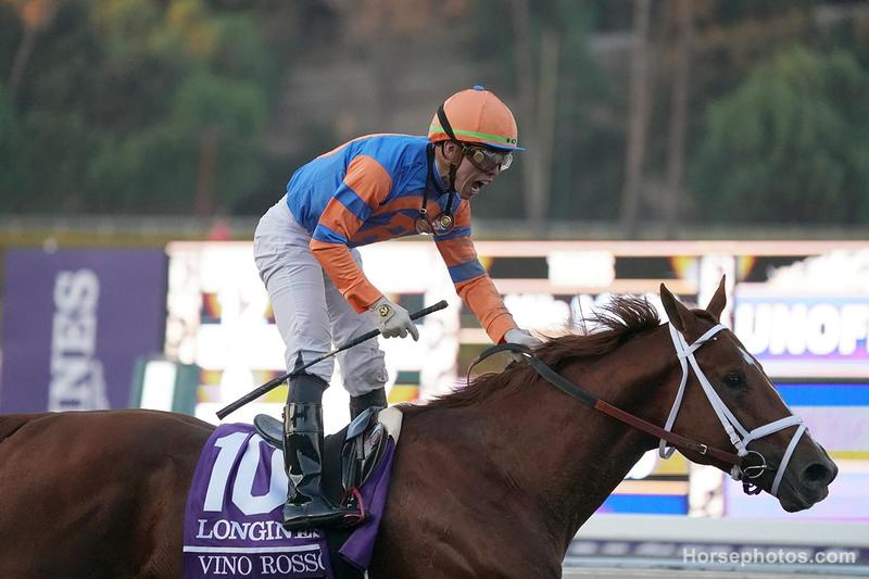 Vino Rosso wins the Breeders' Cup Classic
