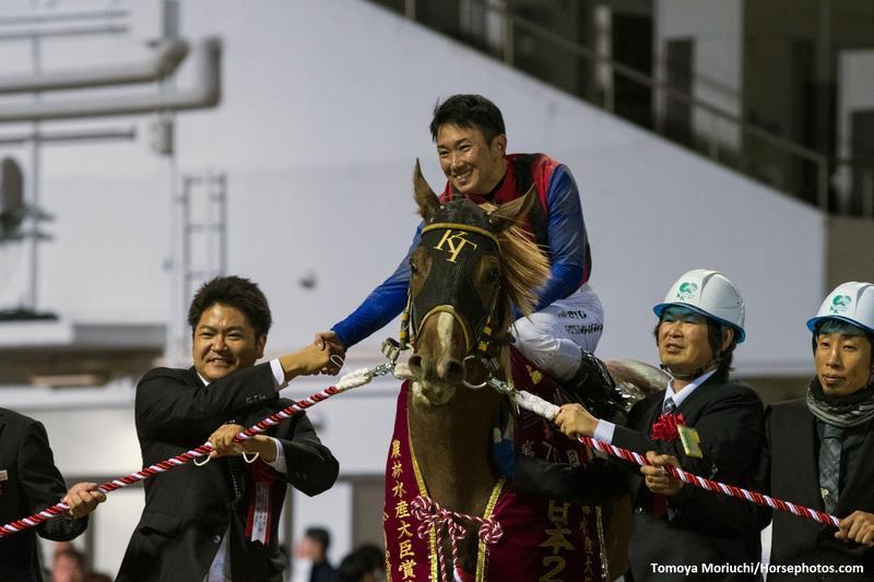 Vacation, with jockey Hiroto Yoshihara wins Zen-Nippon Nisai…