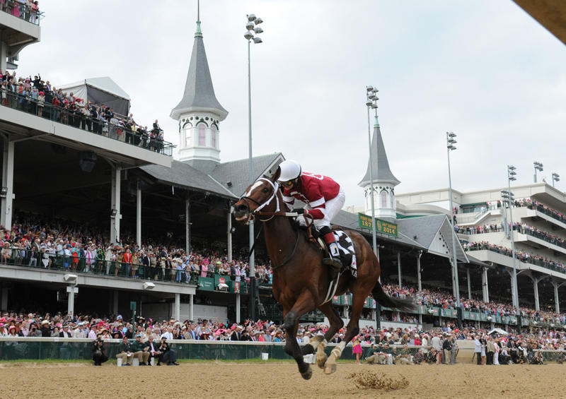 Untapable with Rosie Napravnik up wins the 2014 Kentucky…
