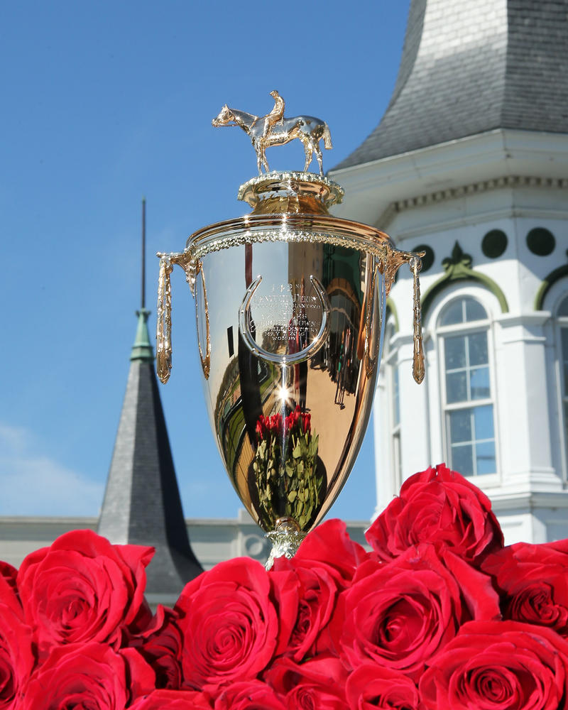 20140413 Kentucky Derby Trophy Arrival - CD (Coady)