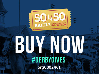 Churchill Downs Incorporated Foundation Announces Opening of Three 50/50 Charitable Raffles During Derby Week