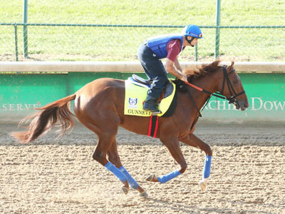 Gunnevera Makes First Appearance On Track At Churchill Downs