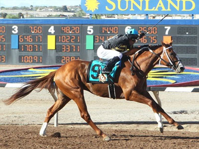 Hence draws off in Sunland Derby