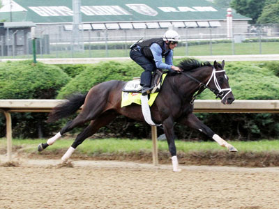 Always Dreaming Fires Bullet on Heavy Day of Kentucky Derby and Oaks Workers