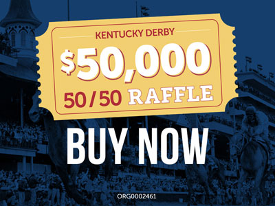 Churchill Downs Incorporated Foundation Announces 50/50 Charitable Gaming Raffles During Kentucky Derby Week