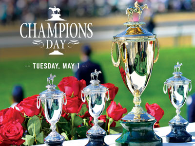 Champions Day at Churchill Downs To Celebrate Legendary Jockeys and Trainers on Tuesday of Derby Week