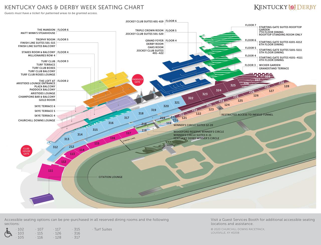 2020 Seating Chart